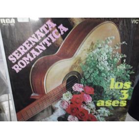 Los Tres Ases Serenata Romantica Lp