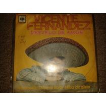 Disco Acetato 45 Rpm De: Vicente Fernandez