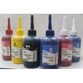 6 X 100ml Tinta Epson Pigmentada Inktec R290 T50 L800 L805