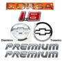 Kit Emblemas Corsa Hatch 1.8 + Premium - 2003 À 2007