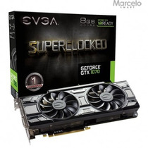 Placa De Video Evga Gtx 1070 Sc Gaming 8gb Directx 12
