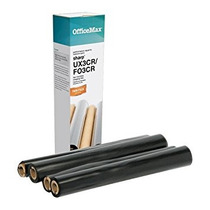 Officemax Negro Fax Refill Rolls, 2-pack Compatible Sharp