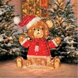 Bta Adorno Navidad Decoracion Iluminados-teddy Bear