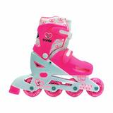 Rollers Stark Kids 5745 + Protecciones + Mochila Talle 31-34