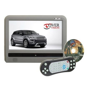 Monitor 9\ Acoplável - Touch Screen Com Dvd - Silver Chalic