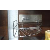 Esquinero Metal De Pegar Baño O Cocina Sobre Azulejo