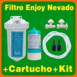 Filtro Agua Enjoy #7rp + Cartucho + Multikit Inst. R4 Ozono