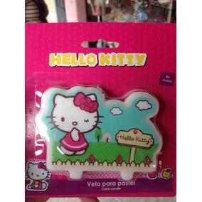 Vela Para Pastel Hello Kitty