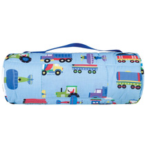 Tb Sleeping Bag Wildkin Olive Kids Train, Planes And Trucks