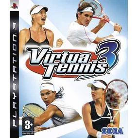 Jogo Para Ps3: Virtua Tennis 3