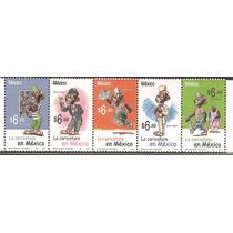 2005 Memin Pinguin Controversial Serie 5 Sellos Mnh