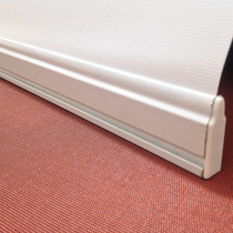 Cortina Roller Zocalo De Aluminio C/tapas, Precio X Mt.
