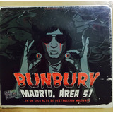 Enrique Bunbury Madrid Area 51 2 Cd+ 2 Dvd