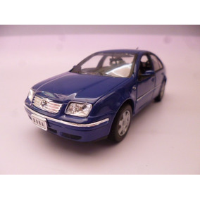 Vw Jetta A4 V6 1/24 Metalico Azul Coleccion Welly 2001