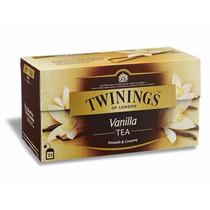 Te Twinings Te Ingles Caja 25 Saquitos Vainilla Envío Gratis