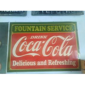 Letrero Coca Cola Enlozado (retro)