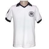 Camisa Retro Da Alemanha 1982 Seleção Alemã Copa 82