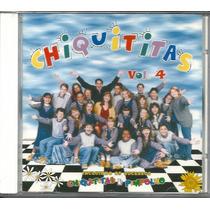Cd Chiquititas Vol. 4 Novo/original/raríssimo