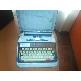 Maquina De Escribir Brother / Buen Estado / Antigüedad