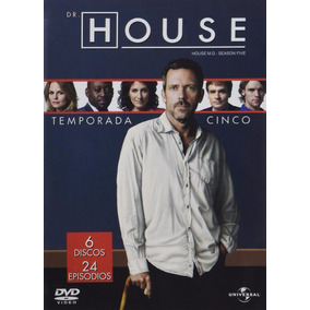 Dr House Quinta Temporada 5 Cinco Serie De Tv En Dvd