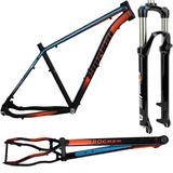 Quadro Bike Bicicleta Elleven Bullet 29+garfo Suspensao