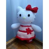 Amigurumi Gatita Kitty : Muneco Amigurumi Tejido A Crochet De Gatito Dormilon ...