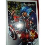 Avengers Marvel Poster Vengadores Firmado Por Elenco
