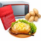 Saco Cozimento De Batatas Inglesa E Doce No Microondas 4 Min