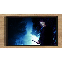 Quadro Poster 35x25 Filme Halloween Michael Myers Terror