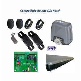 Kit Motor Automatizador De Portão Deslizante Rossi