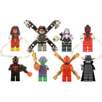 Sw6 Spiderman Iron 2099 Octopus Duende Compatible Con Lego