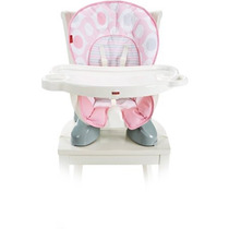 Fisher Price Trona Spacesaver Rosa Eclipse