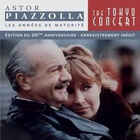 Astor Piazzolla The Tokyo Concert 20 Anniversary 2 Cd Nuevo