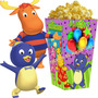 Kit Imprimible Backyardigans Invitaciones Cumpleaños 2x1