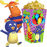 Kit Imprimible Backyardigans Invitaciones Cumpleaños 2x1