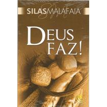 Livro Deus Faz! - Pr. Silas Malafaia Editora Central Gospel