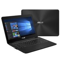 Notebook Z450la-wx009t, Intel Core I3, Tela 14 ,preto - Asus