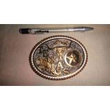 087147a43eb6c Fivela Montana Silversmiths Comprada Nos Usa Texas