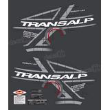Kit Faixa Adesivo Honda Transalp Xl 700v 2011 Preta P08pt