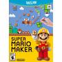 Juego Nintendo Wii U Super Mario Maker Original Box Fisico