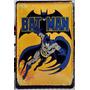 Batman Poster Metalico Retro - Coleccion Buen Precio