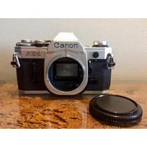 Câmera Canon Ae-1 Corpo Filme 35mm Impecável
