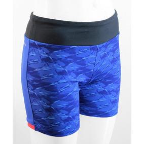 Short adidas Mujer Climalite Azul Negro Mujer