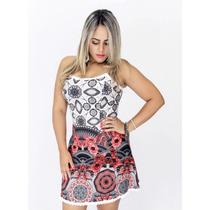 Vestido Panicat Boneca Cinturado Moda Verão 2017 Fique Linda