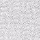 Toalha De Mesa Plástica Flanelada Quadrada 1,38x1,38 Branco