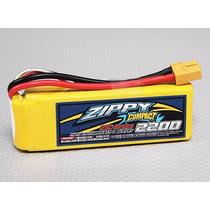 Bateria De Lipo 2200mah 3s 25c Compact 21346 - Pode Retirar.