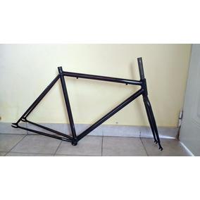 Cuadro De Bicicleta Fixie Ruta Rodado R 28 Horquilla R28