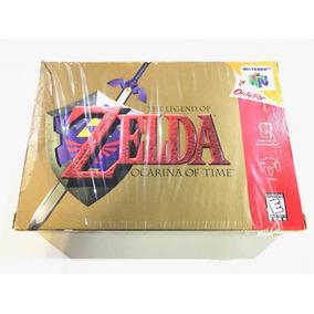 Zelda Ocarina Of Time En Caja Nintendo N64 Retromex Tcvg