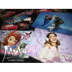 10 Individuales Frozen Soy Luna Tini Monster High Souvenir