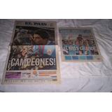 Copa America 2011 Edicion El Pais Y Suplemento Ovacion...
